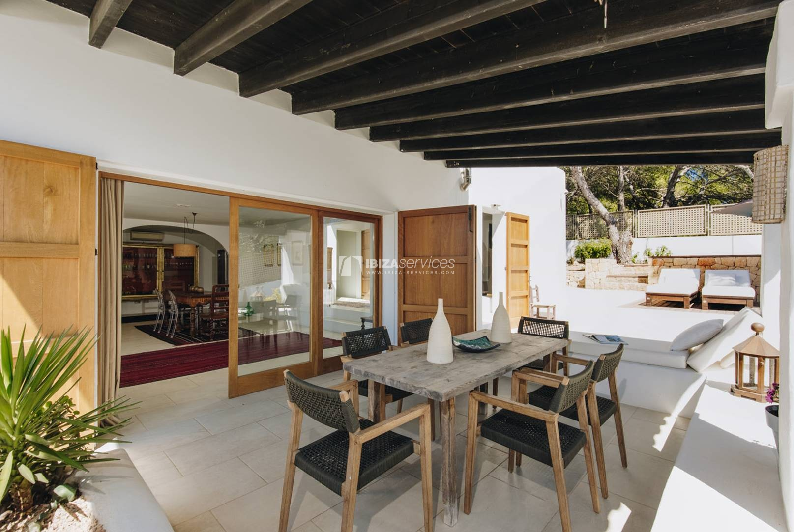 Monthly summer rental Talamanca 3 bedroom house for rent perspectiva 80
