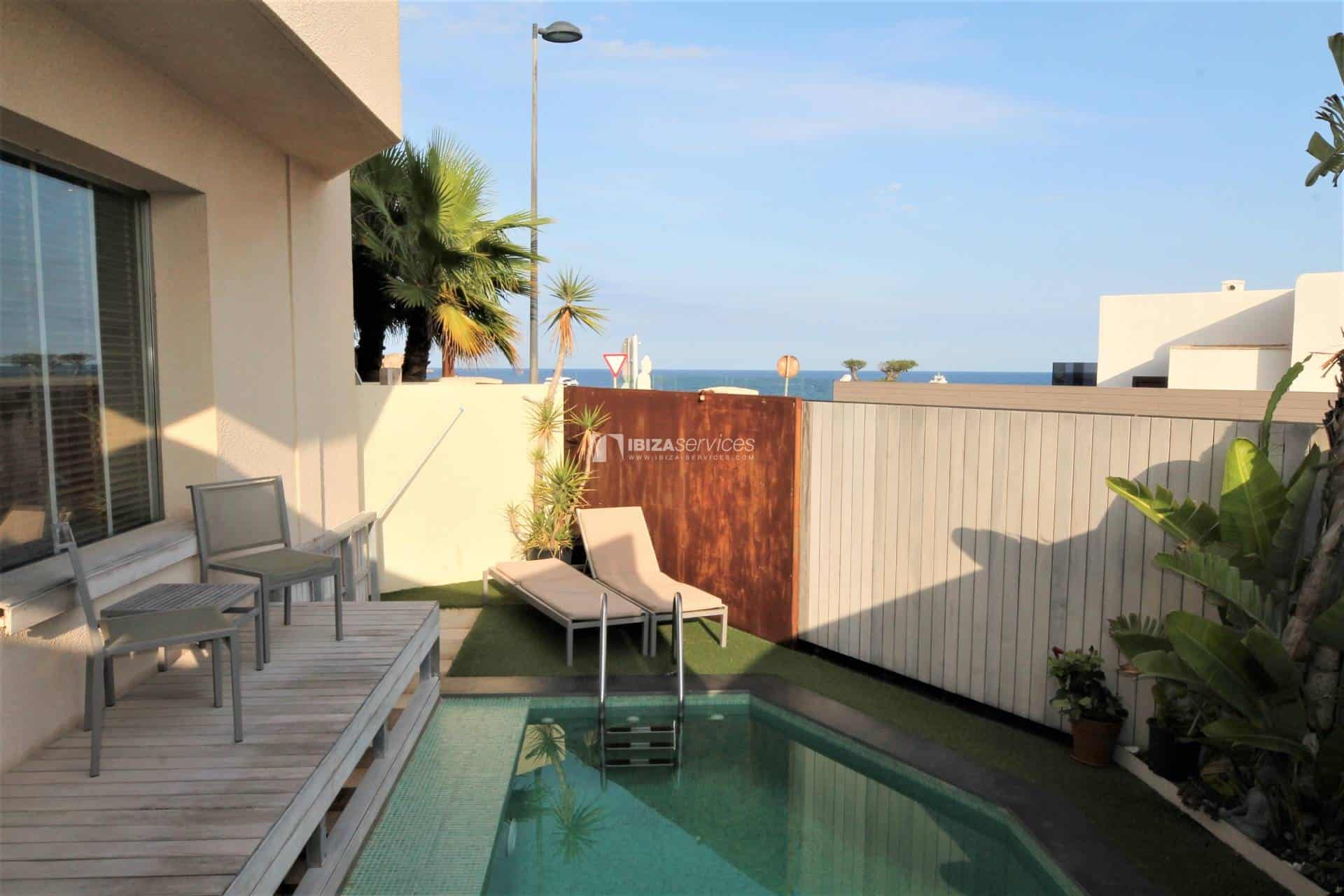 Purchase seafront house Talamanca with pool perspectiva 18
