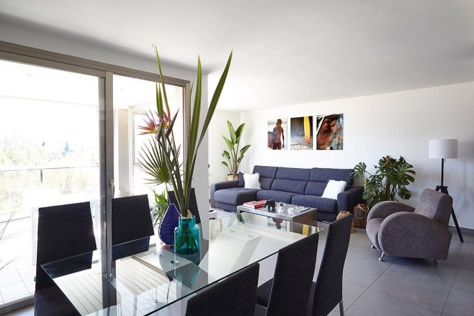 Winter rental 3 bedroom apartments paseo maritime Ibiza