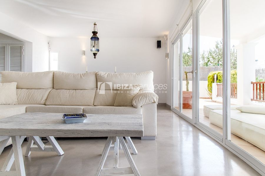 Seasonal rent semi-detached house view to Es Vedra perspectiva 21