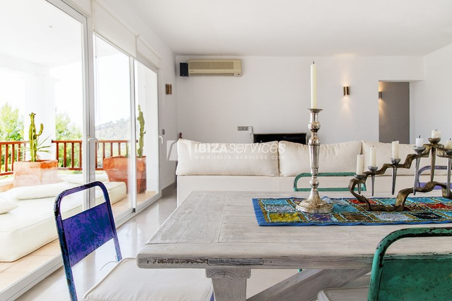 Seasonal rent semi-detached house view to Es Vedra perspectiva 20