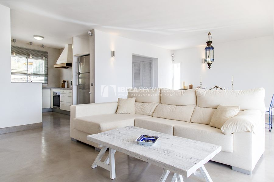 Seasonal rent semi-detached house view to Es Vedra perspectiva 19