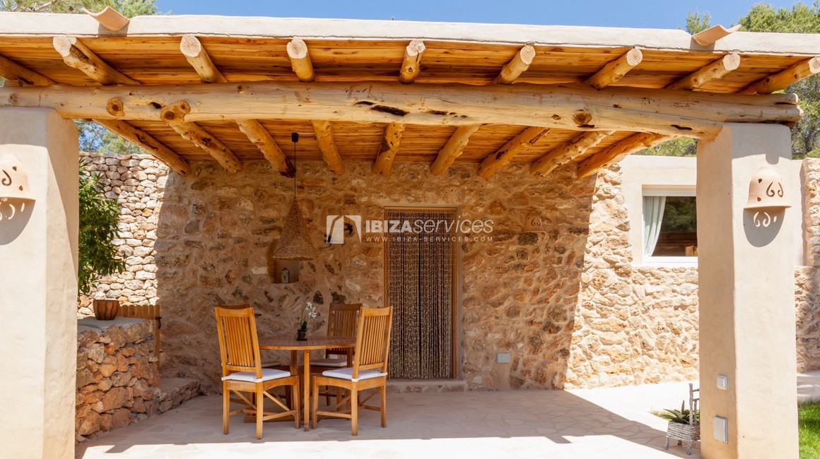 Small ibicencan style cottage for rent perspectiva 3