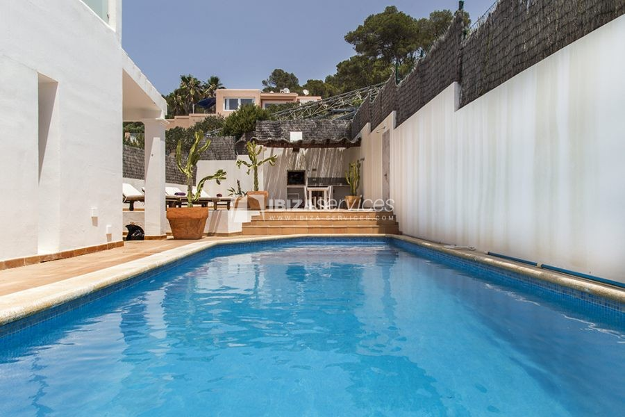 Seasonal rent semi-detached house view to Es Vedra perspectiva 18