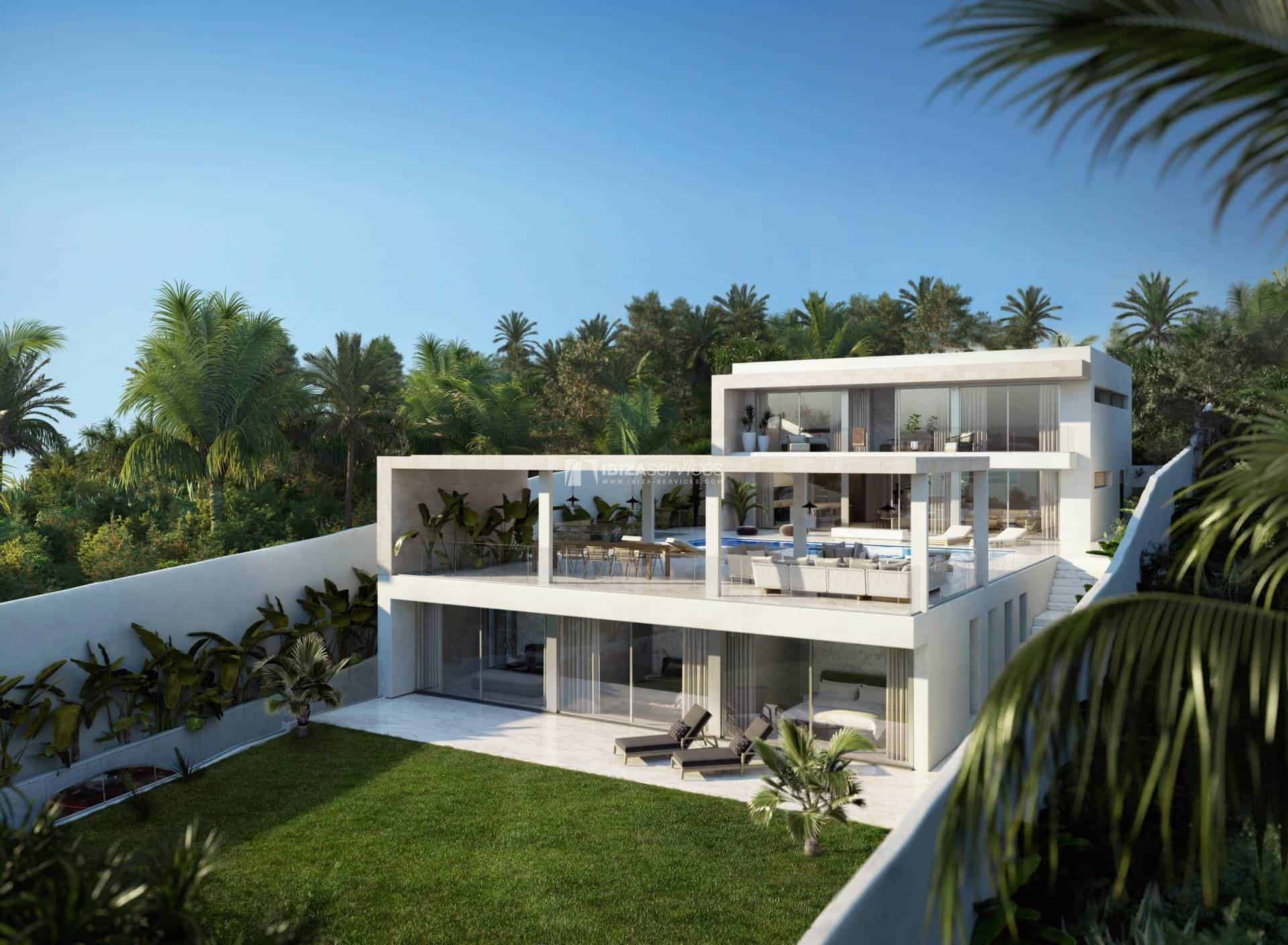 For Sale Cap Martinet Talamanca urban land with project perspectiva 5