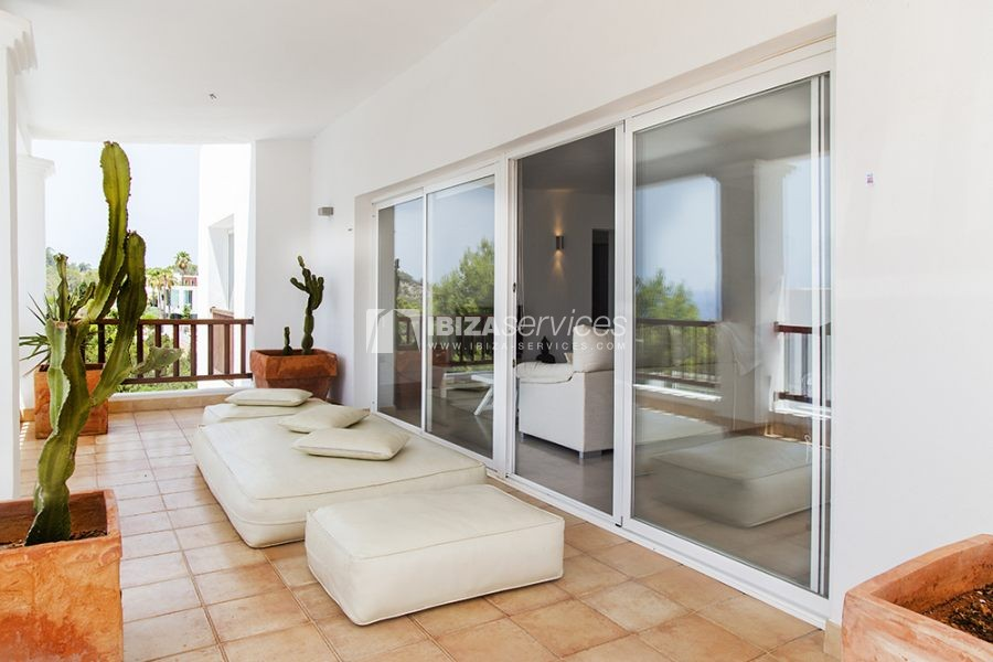 Seasonal rent semi-detached house view to Es Vedra perspectiva 6