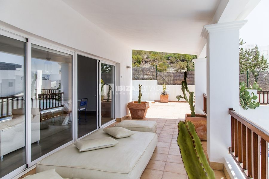 Seasonal rent semi-detached house view to Es Vedra perspectiva 7