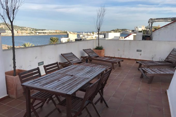 Modern duplex apartment with roofterrace for sale Dalt Villa