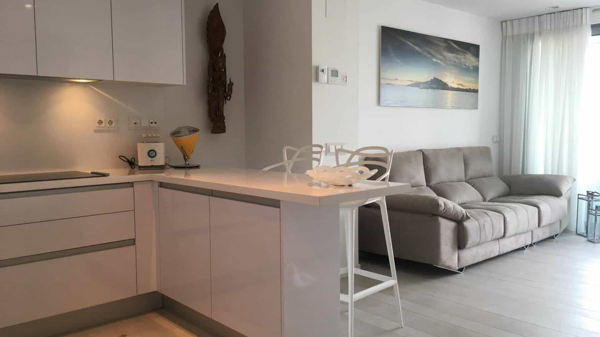 White Angel Ibiza 2 bedroom apartment for sale